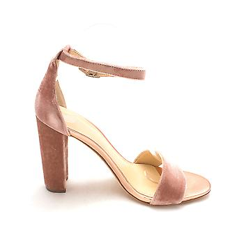 Ivanka Trump Womens Emalyn2 Fabric Open Toe Special Occasion Ankle Strap Sand...