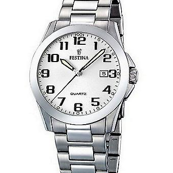 Festina mens watch classic F16376-7