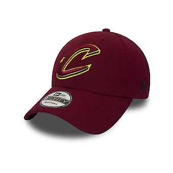 New Era NBA Cleveland Cavaliers Cap in Red