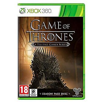 Game of Thrones en Telltale spil serie Season pass Disc-Xbox 360-fabriks forseglet