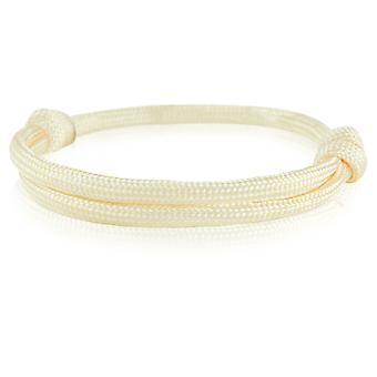 Skipper bracelet surfeur bande nœud maritimes bracelet nylon saumon Orange 6749