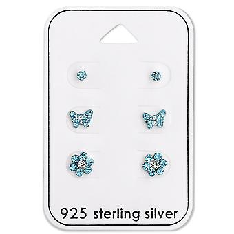 Blue - 925 Sterling Silver Sets - W28478x