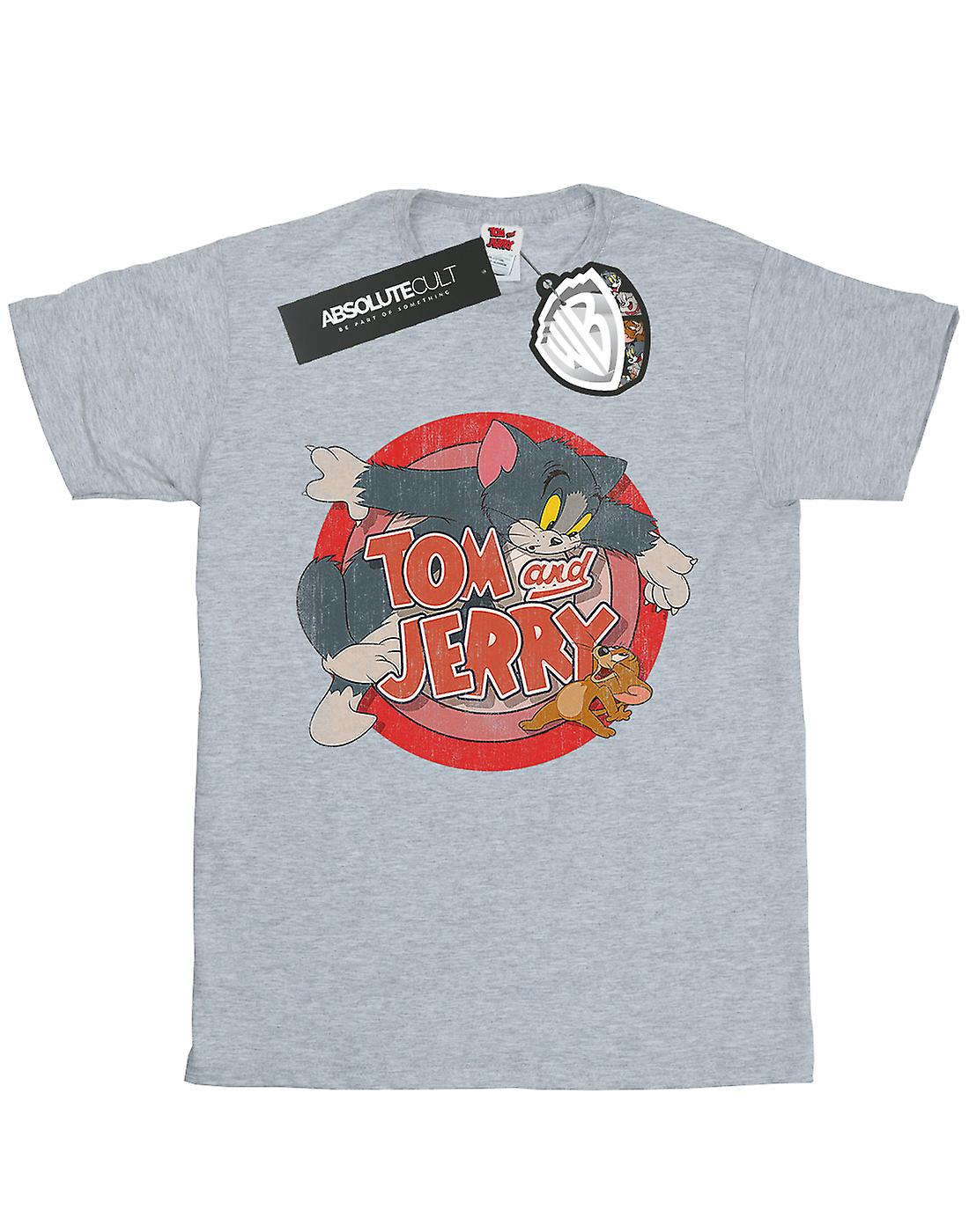 Women's Junk Food Tom & Jerry t shirt size Small