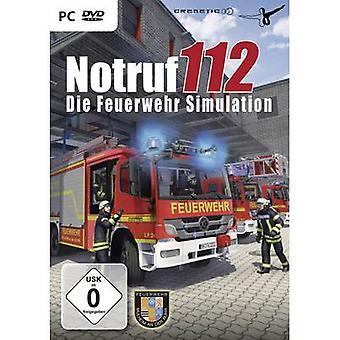 Notruf 112 - sterven Feuerwehr simulatie PC USK: 0