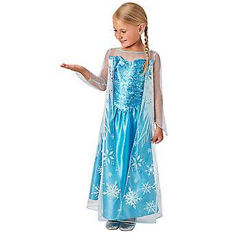 ELSA congelada traje vestido clásico para niños