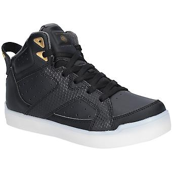 Skechers Boys E-Pro Street Quest High Top Lace Up Trainers