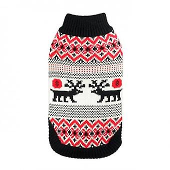 Hip Doggie Moose Lodge Sweater