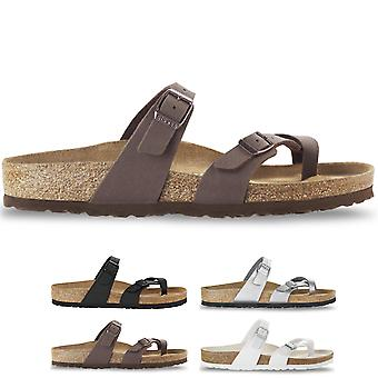 Womens Mayari de Birkenstock Birko-Flor Summer Beach Holiday Flat Sandals