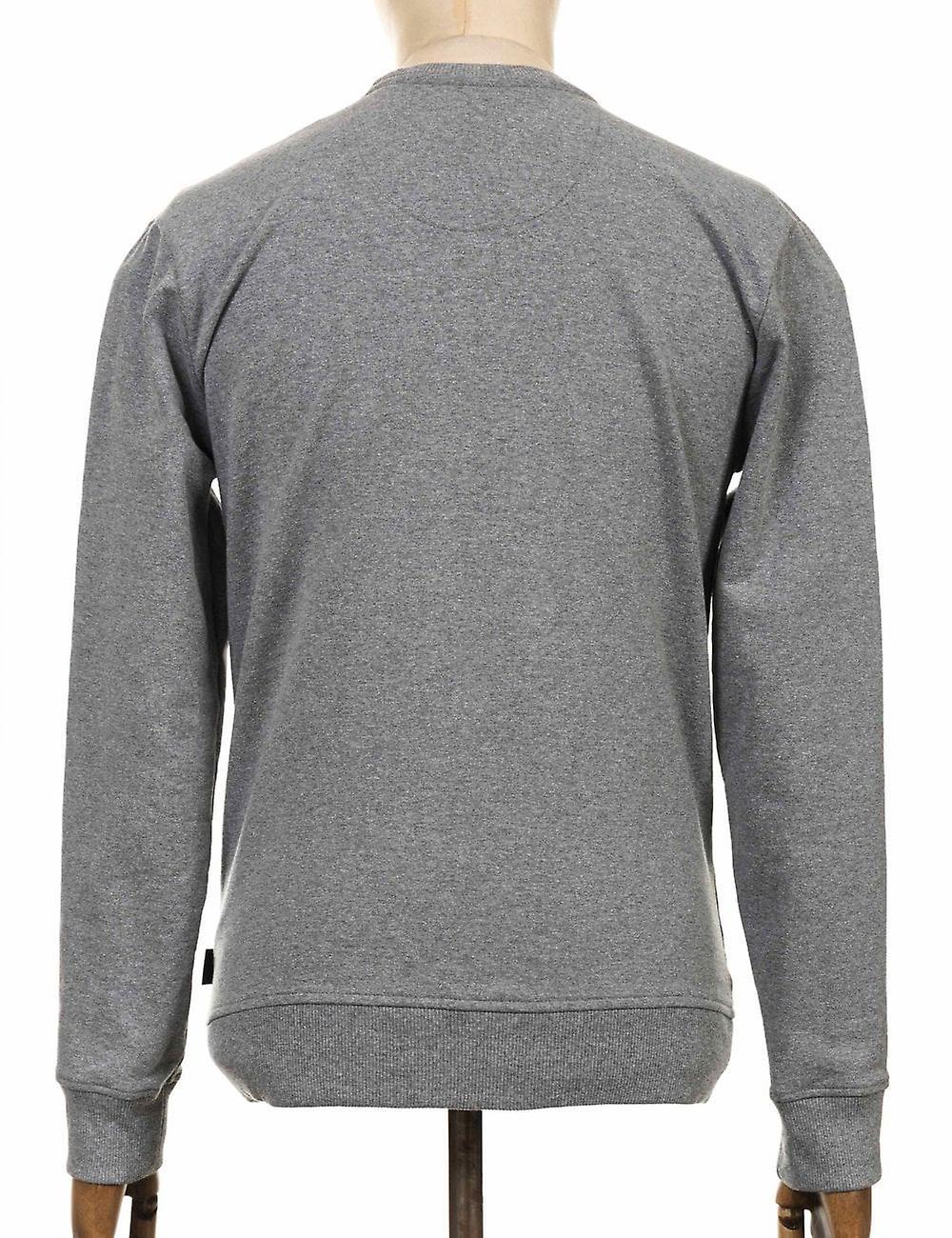 Patagonia P-6 Label Uprisal Crew Sweatshirt - Gravel Heather