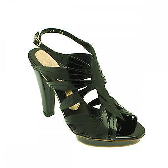 Magrit Patent High Heel Platform Sandal