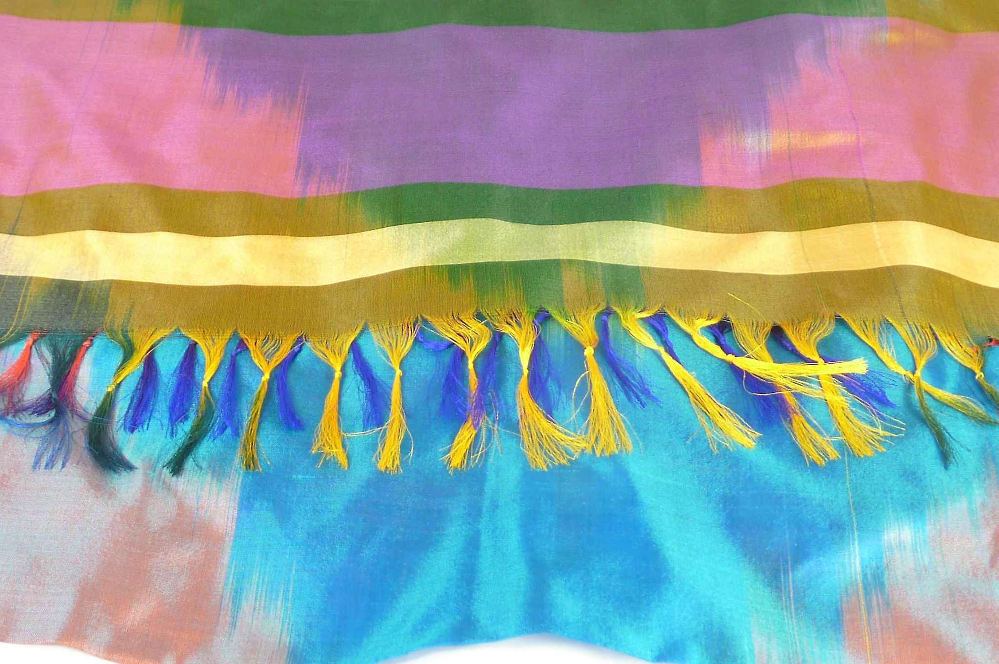 Varanasi Ekal Premium Silk Long Scarf Heritage Range Das 9 by Pashmina & Silk