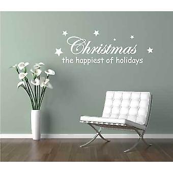 休日のウォール ステッカーの幸せなクリスマスの装飾