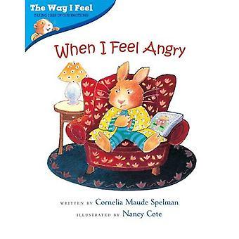 Når jeg føler meg sint (slik jeg føler bøker)