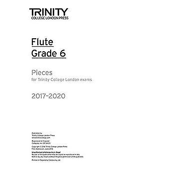 Trinity College London: Flöjt examen bitar Grade 6 2017 – 2020 (endast del)