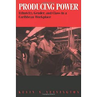 Producing Power: Ethnicity, Gender, and Class in a Caribbean Workplace