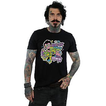 Jóvenes Titanes de DC Comics los hombres ir Knock Knock camiseta