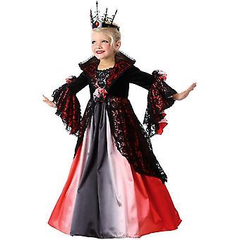Renässansens Vampiress barn kostym