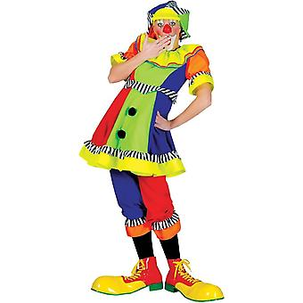 Bright Clown Adult Costume