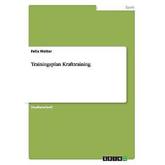 Trainingsplan Krafttraining por Wolter & Felix