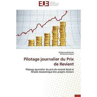 Pilotage journalier du prix de revient by Collectif