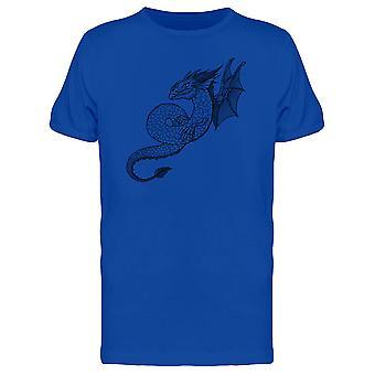 Tradition asiatischen Drachen T-Shirt Herren-Bild von Shutterstock