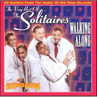 Solitaires - Very Best of-Walking Along [CD] USA import