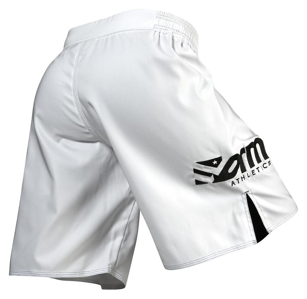 Danne friidrett Mens stolthet kjempe Shorts - hvit
