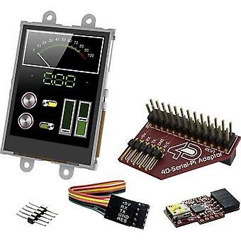 4D Systems PCB design board SK-24PTU-Pi