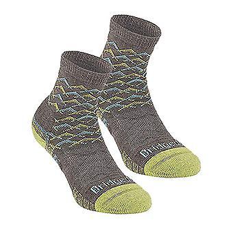 布里奇代尔徒步旅行轻性能 妇女 L/棕色袜子