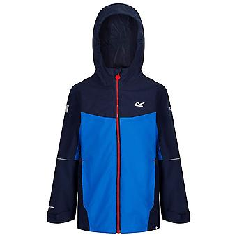 Regatta Childrens/Kids Hipoint Stretch IV Lightweight Hooded Waterproof Jacket