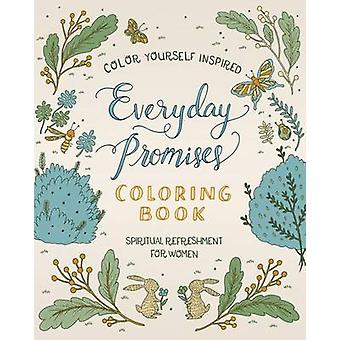 Spiritual Refreshment for Women - Everyday Promises Coloring Book by C