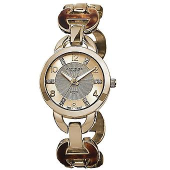 Akribos XXIV Women es Diamond Accent Swiss Quartz Watch AK699YG