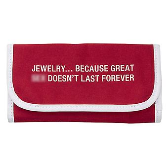 Say What Jewellery Pouch