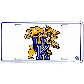 Kentucky Wildcats NCAA License Plate
