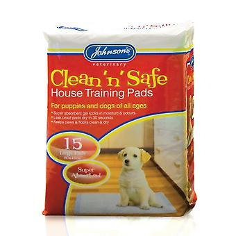 Johnsons Clean N Safe Grande Casa Pad per Cani