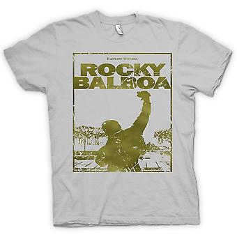 Męskie KOSZULKA-Rocky Balboa Punch - film - śmieszne