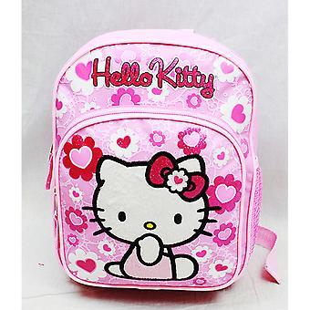 Mini Backpack - Hello Kitty - Pink Flower Bow New School Bag 84022