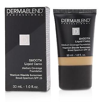 Dermablend Smooth Liquid camo Foundation SPF 25 (cobertura média)-castanha (40N)-30ml/1oz