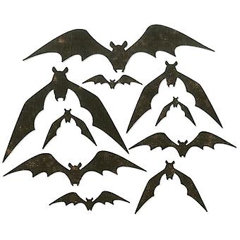 Sizzix Thinlits Die Set Bat Crazy Set of 10 par Tim Holtz