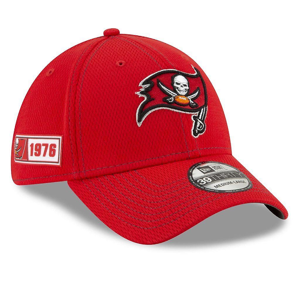 New Era NFL Onfield Sl Rd 39Thirty Cap ~ Tampa Bay Buccaneers