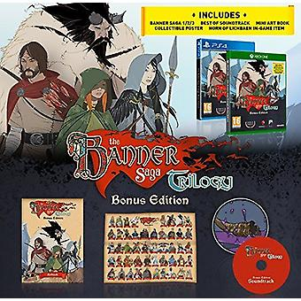 Banner saga Trilogy bonus Edition PS4-spil