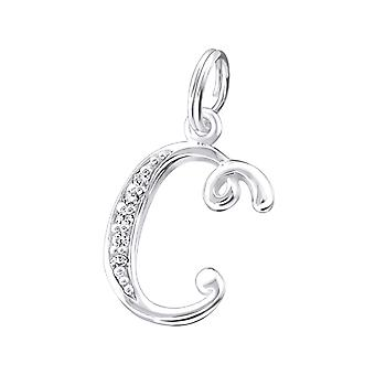 """c"" - 925 Sterling hopea Charms Split rengas - W27674x"