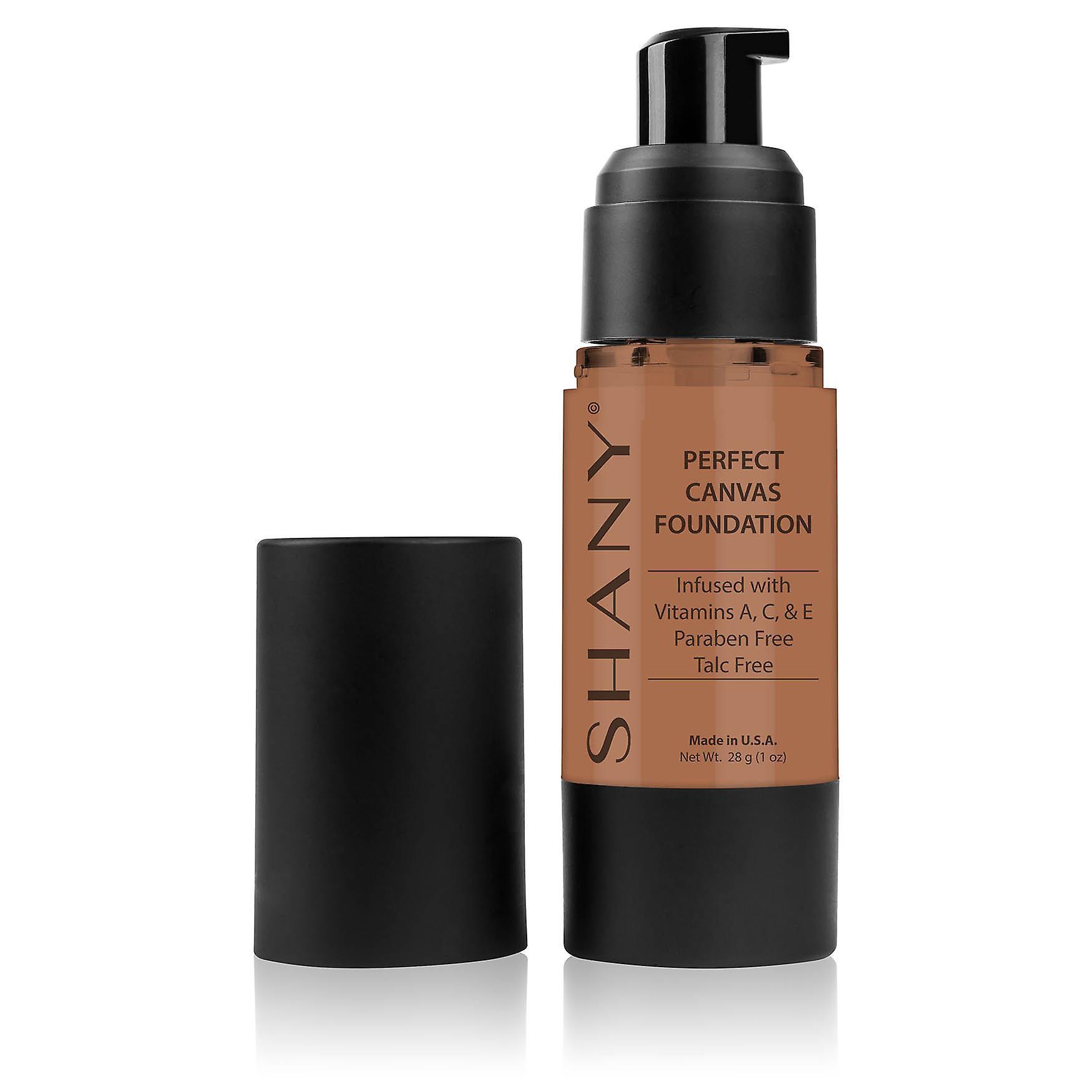 SHANY Perfect Canvas Liquid Foundation - Paraben-Free/ Talc-Free/ Oil-Free