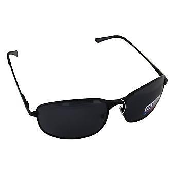 サングラス スポーツ 長方形偏光ガラス ブラック BrillenkokerS304_1