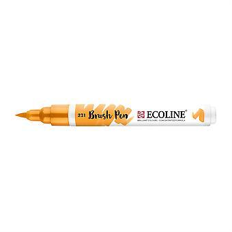 Talens Ecoline Liquid Watercolour Brush Pen - 231 Gold Ochre