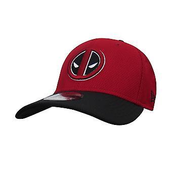 Deadpool szimbólum piros & fekete 39Harminc felszerelt kalap