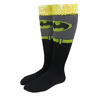 Batman Costume Donne's Knee High Calzini