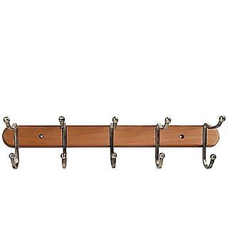 Tatkraft, Charm - Hook strip, 5 double hooks