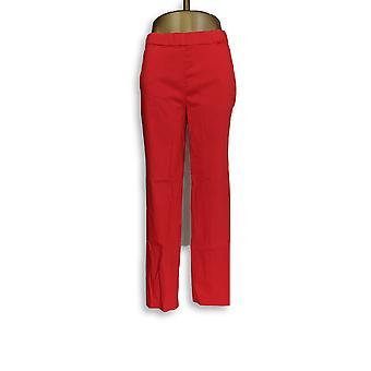 Susan Gravir Donne's Pantaloni Ultra Stretch Pull-On Slim Red A286563