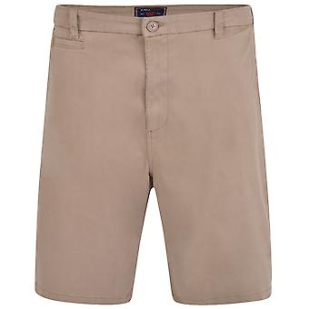 Kam Jeanswear Mens Chino Stretch Shorts
